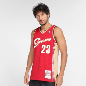 Regata NBA Cleveland Cavaliers Lebron James nº23 Mitchell & Ness Masculina
