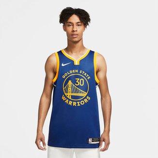 Regata NBA Golden State Warriors Curry nº 30 Nike Icon Edition 2020 Masculina