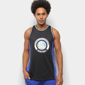 Regata NBA Golden State Warriors Estampada Masculina