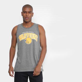 Regata NBA Golden State Warriors Mitchell & Ness Team Arch Masculina