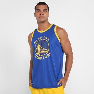Regata NBA Golden State Warriors Shield Masculina