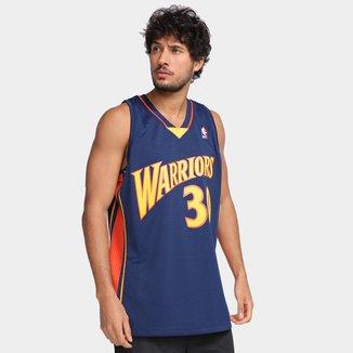 Regata NBA Golden State Warriors Stephen Curry nº30 Mitchell & Ness Masculina