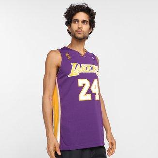 Regata NBA Los Angeles Lakers Bryant nº24 Mitchell & Ness Masculina