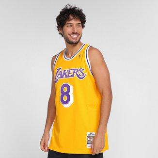 Regata NBA Los Angeles Lakers Kobe Bryant nº8 Mitchell & Ness Masculina
