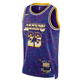 Regata NBA Los Angeles Lakers LeBron James MVP Nike Swingman Select Series Masculina
