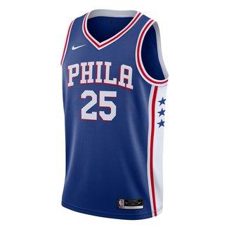 Regata NBA Philadelphia 76ers Ben Simmons Nike Swingman Icon Edition 2020 Masculina