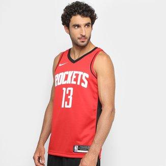Regata NBA Swingman Houston Rockets nº 13 James Harden Jersey Nike Masculina