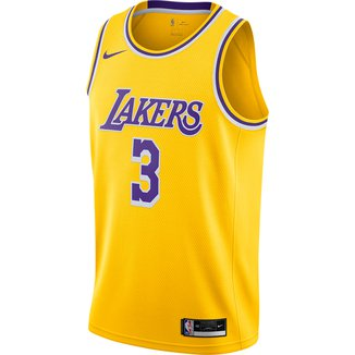 Regata NBA Swingman Los Angeles Lakers  nº 3 Anthony Davis Nike Masculina