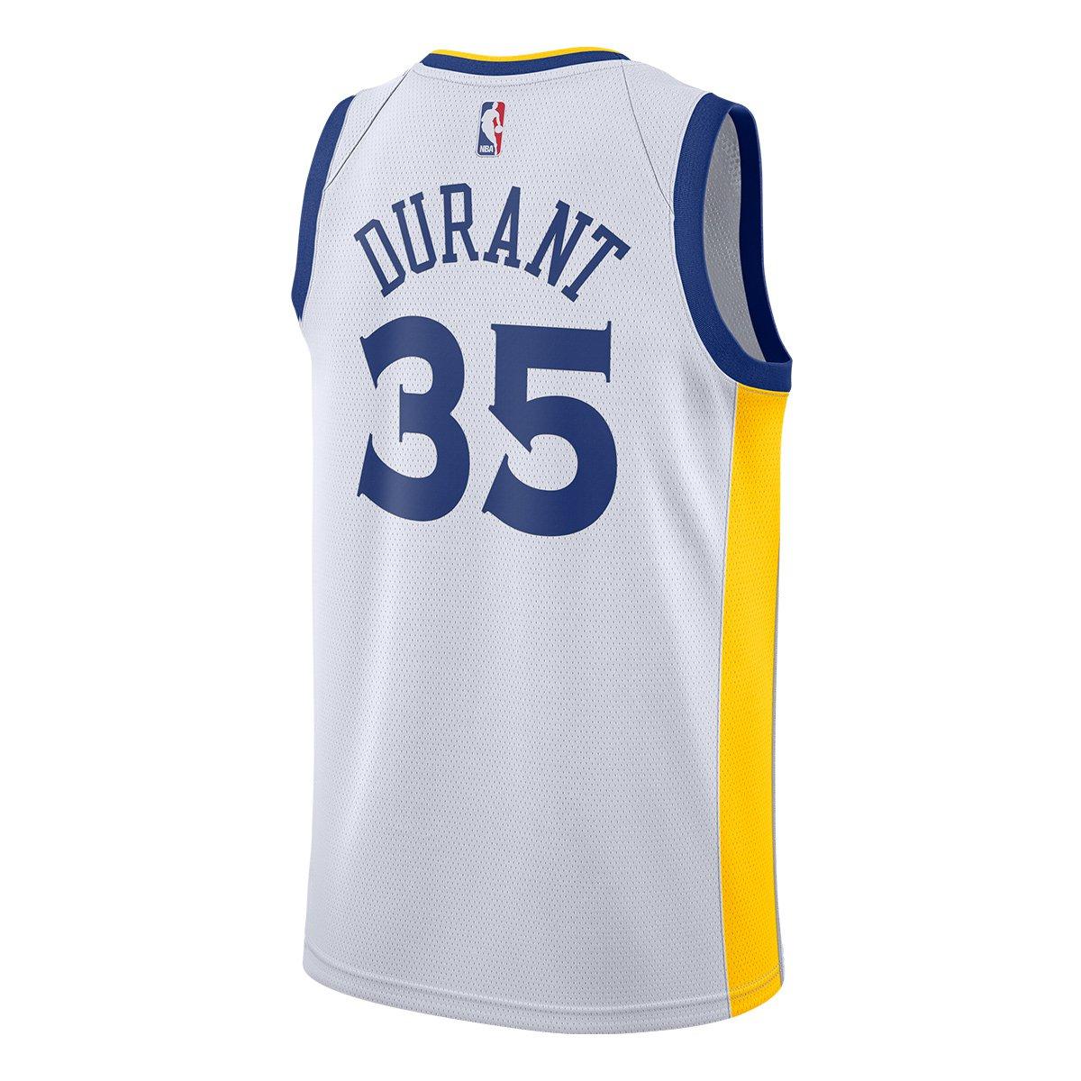 37f043f1c0 Regata Nike Golden State Warriors Kevin Durant Swigman JSY Masculina -  Compre Agora