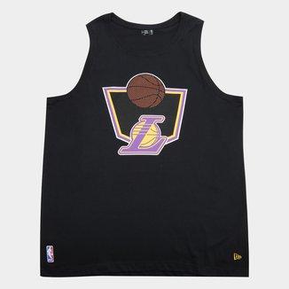 Regata Plus Size New Era Los Angeles Lakers Masculina