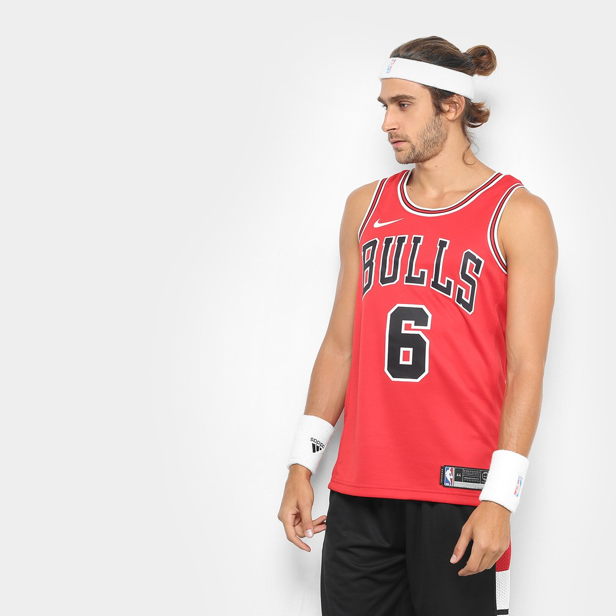fc4962999b Regata Swingman NBA Chicago Bulls Felício 6 Nike Road