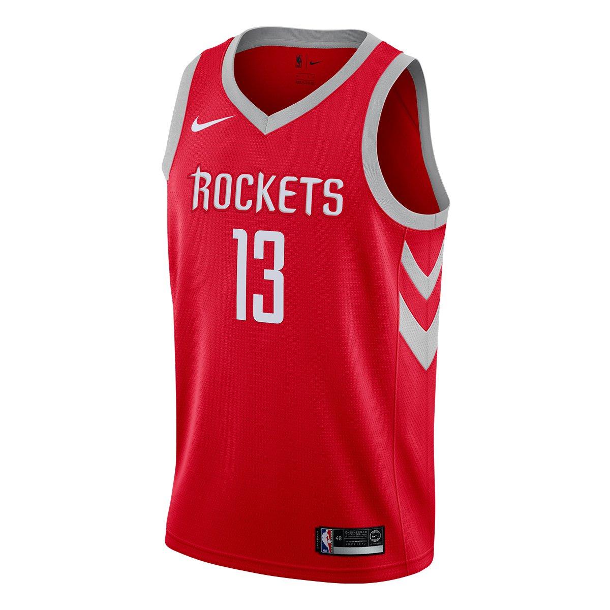 Regata Swingman NBA Houston Rockets James Harden Nike Road - Compre Agora  7e0d256f7