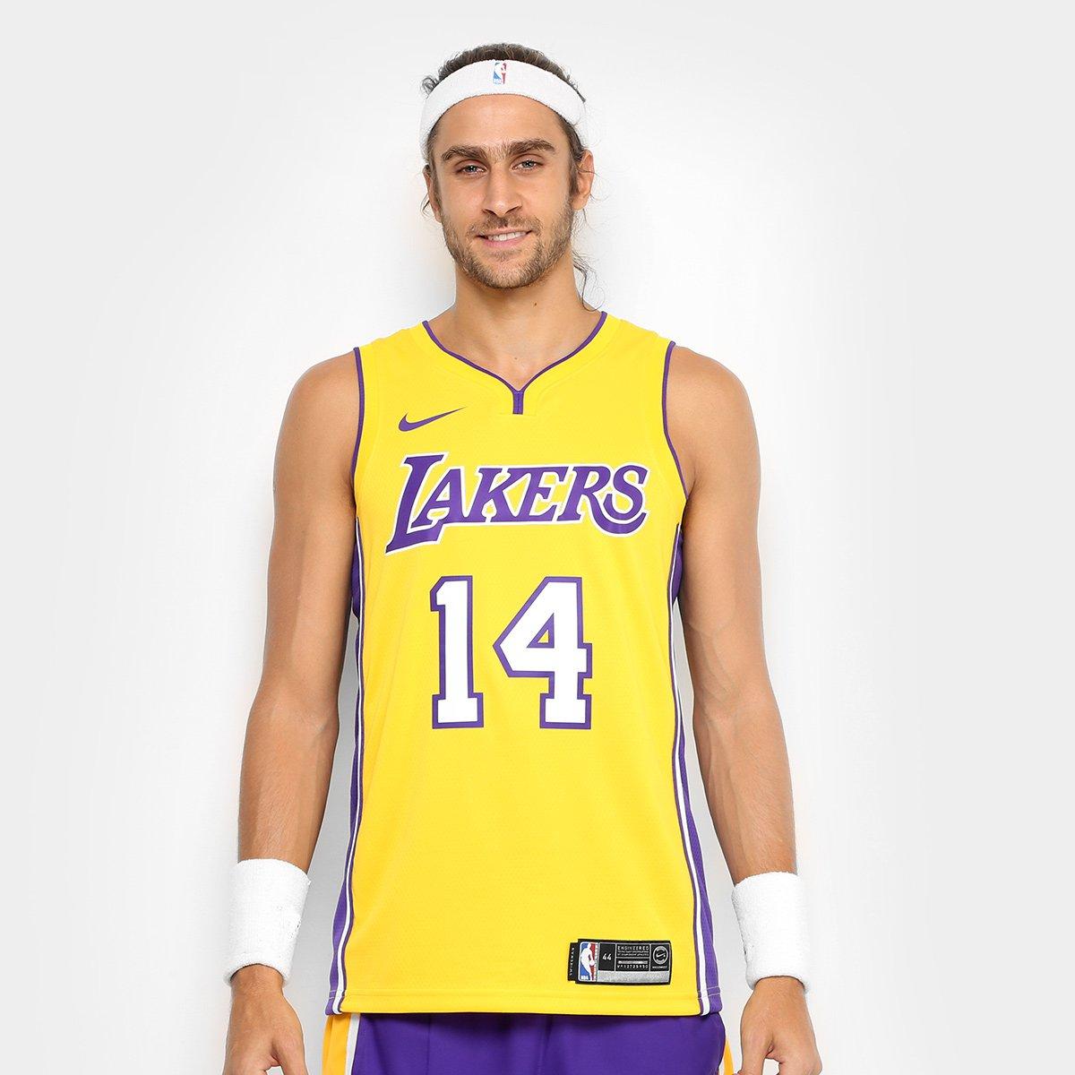 Regata Swingman NBA Los Angeles Lakers Nike Home - Ingram b9e688d3ce138