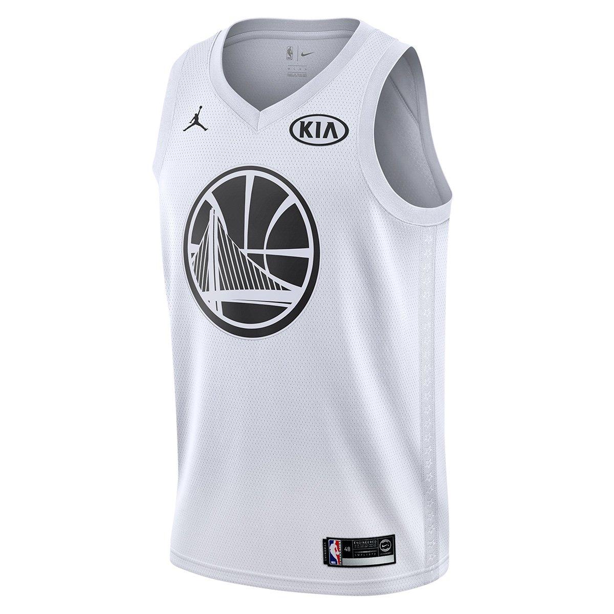 91534e5ad Regata Swingman NBA Stephen Curry All Star Games JSY West 2018 Nike -  Compre Agora