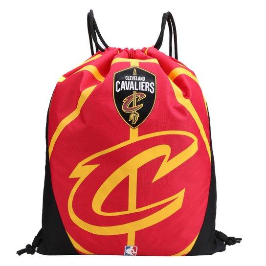 Sacola NBA Cleveland Cavaliers DMW Gym Sack - Vermelho+Preto