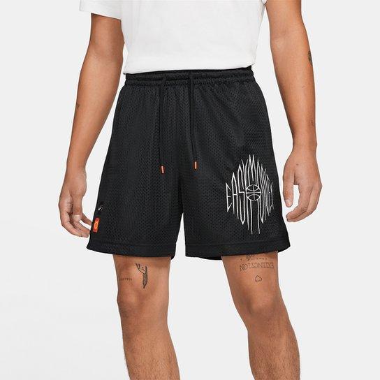Short Nike NBA Kevin Durant Mesh Masculino - Preto+Chumbo
