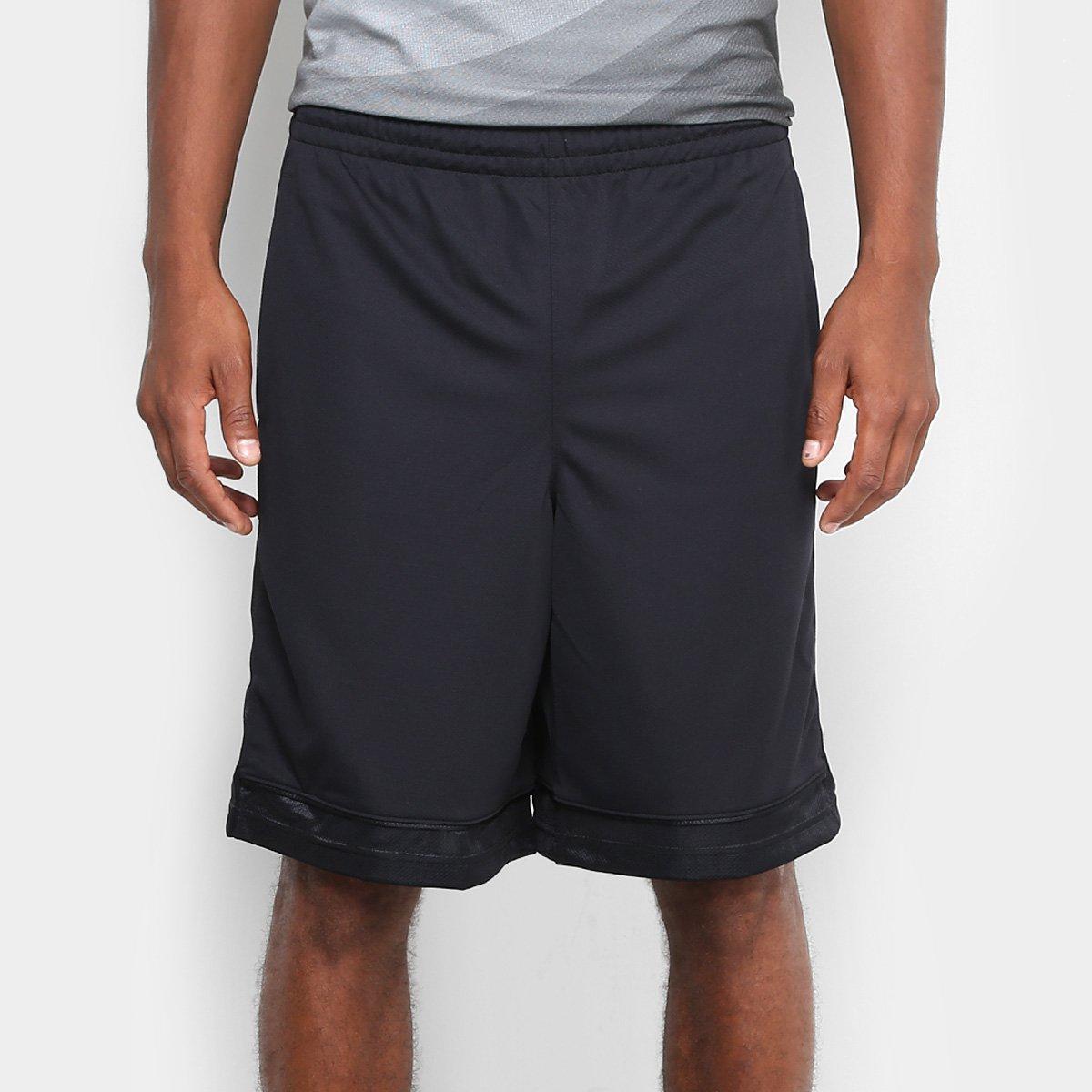 85d59e48795 Short Under Armour Baseline Basketball Masculina - Preto - Compre Agora