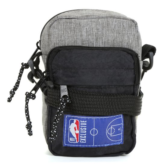 Shoulder Bag NBA Masculina - Mescla