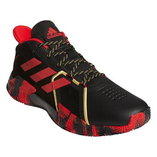 Tênis Adidas Court Vision 2 - Preto+Vermelho
