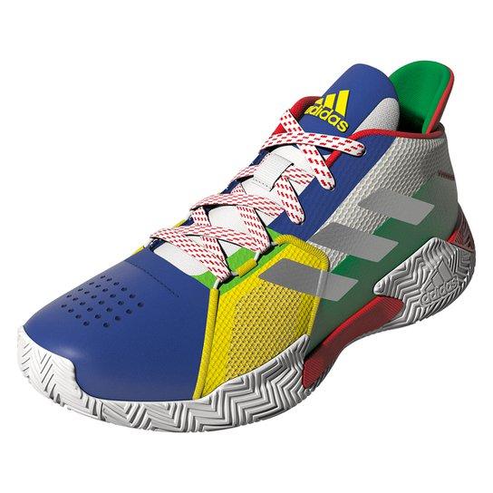 Tênis Adidas Court Vision 2 - Branco+Amarelo