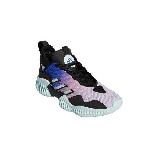 Tênis Adidas Court Vision 3 - Preto+Azul claro