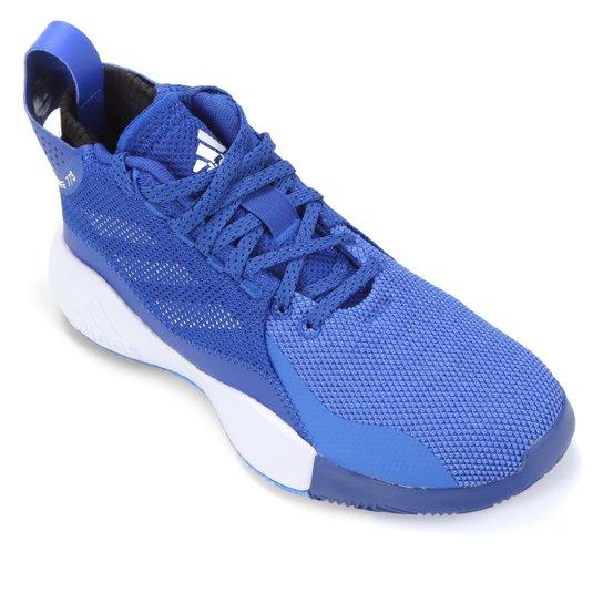 Tênis Adidas D Rose 773 2020 - Azul Royal+Branco