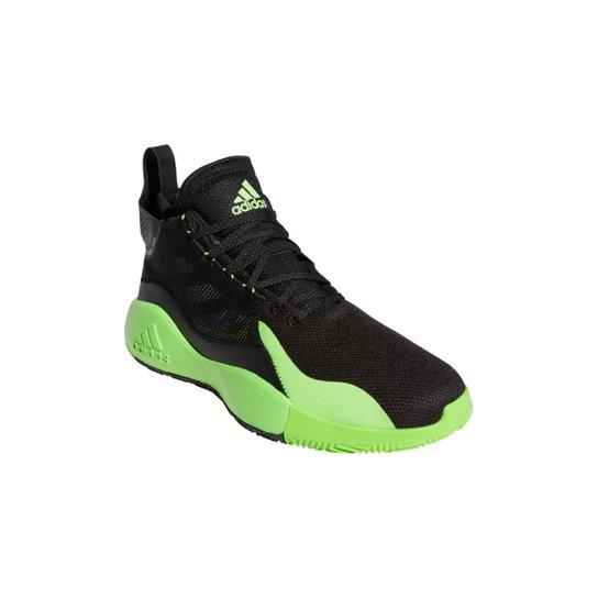 Tênis Adidas D Rose 773 2020 - Preto+verde