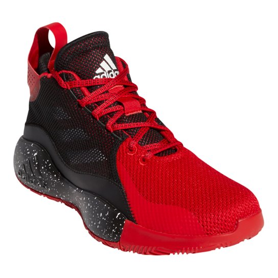 Tênis Adidas D Rose 773 2020 - Vermelho+Preto