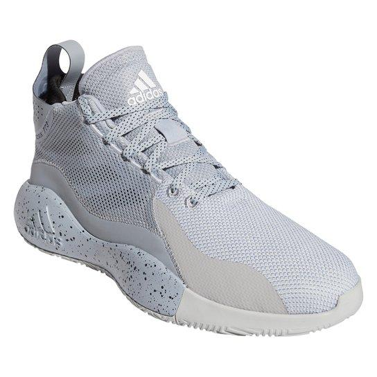 Tênis Adidas D Rose 773 2020 - Prata+Branco