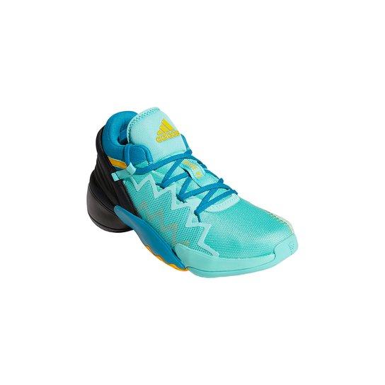 Tênis Adidas Donovan Mitchell Issue 2 Gca Masculino - Verde+Preto
