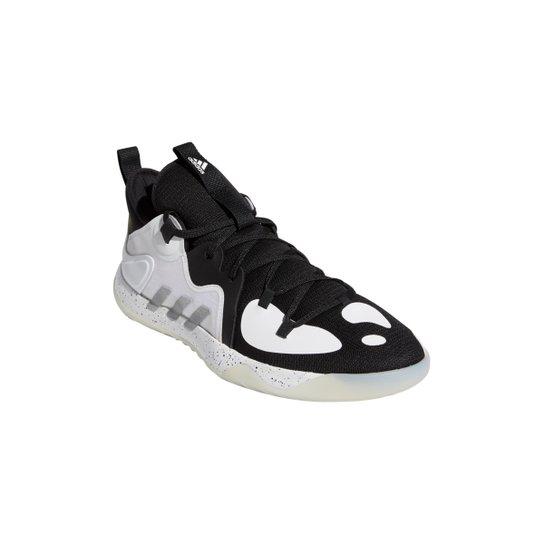 Tênis Adidas Harden Stepback 2 - Preto+Branco