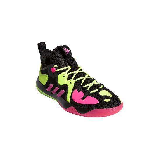 Tênis Adidas Harden Stepback 2 - Preto+Rosa