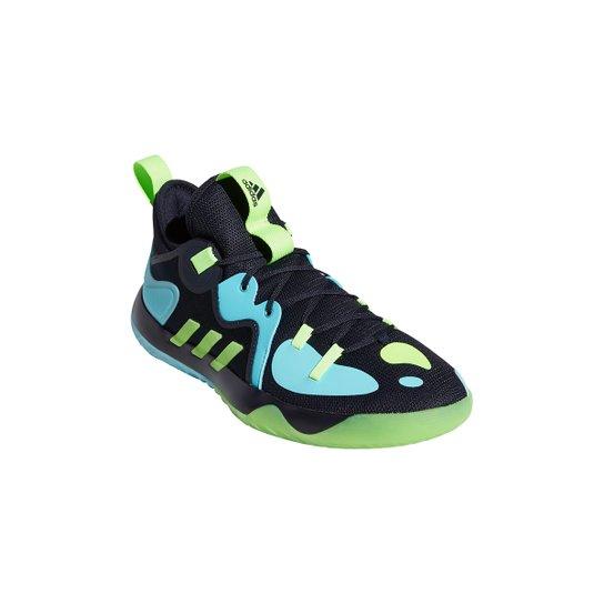 Tênis Adidas Harden Stepback 2 - Marinho+Verde