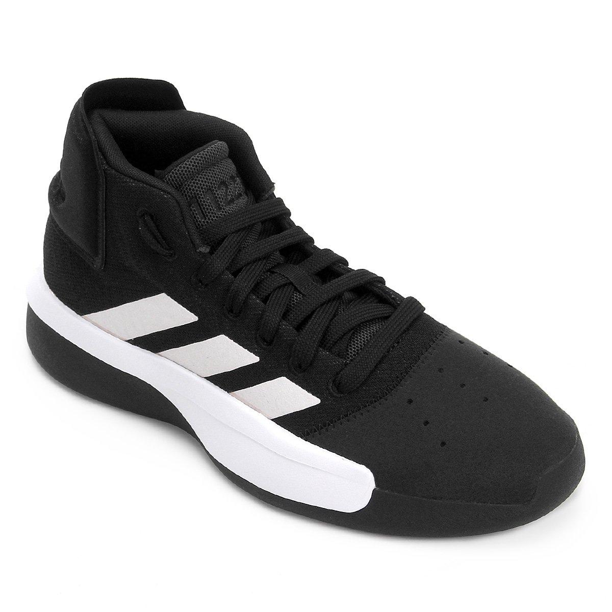 3e403d06bc Tênis Adidas Pro Adversary 2019 Masculino - Preto e Branco | Loja NBA