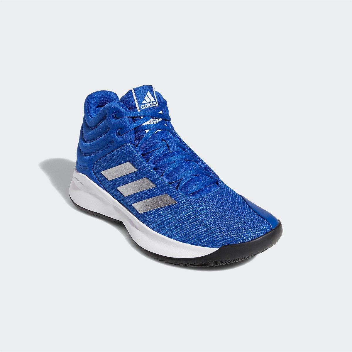 88269144874 Tênis Cano Alto Adidas Pro Spark 2018 Masculino - Azul e Branco - Compre  Agora