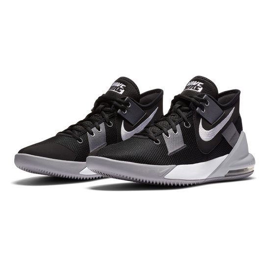Tênis Nike Air Max Impact 2 - Preto+Branco