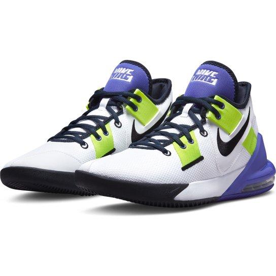 Tênis Nike Air Max Impact 2 - Branco+Preto