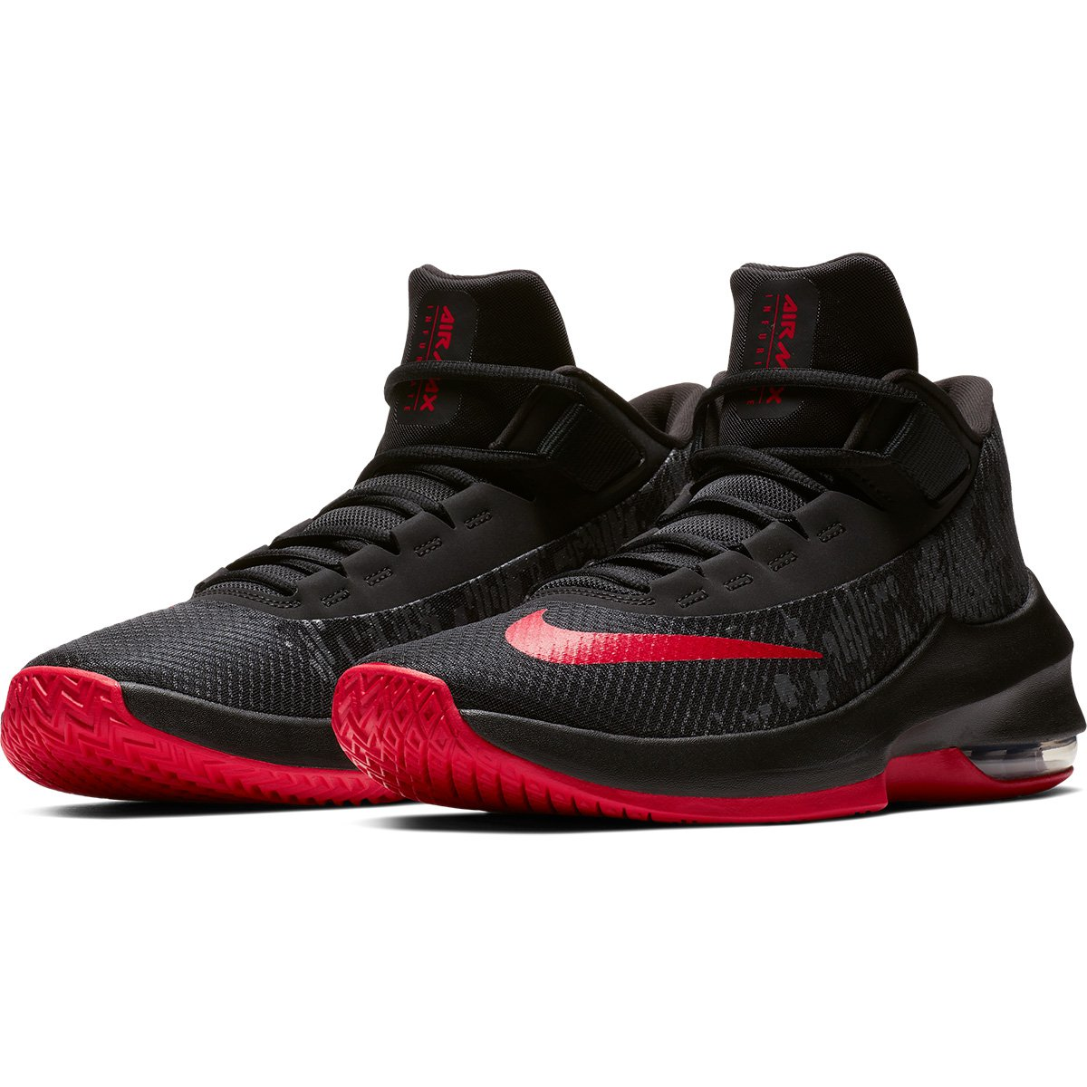 1eba832f651ed Tênis Nike Air Max Infuriate 2 Mid Masculino - Preto e Vermelho - Compre  Agora