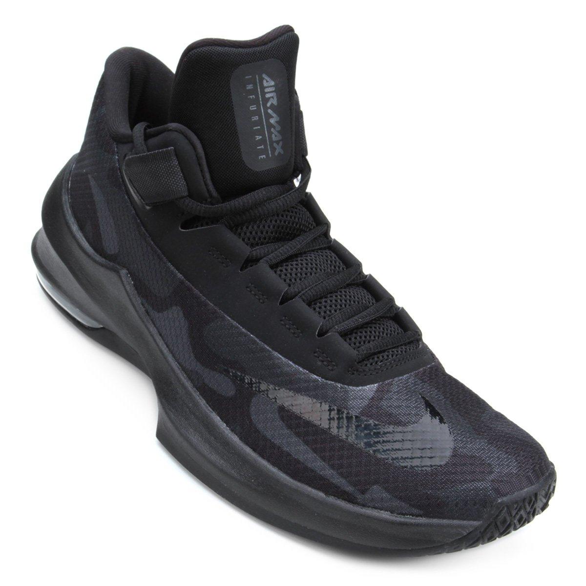 Tênis Nike Air Max Infuriate 2 Mid Premium Masculino | Loja NBA
