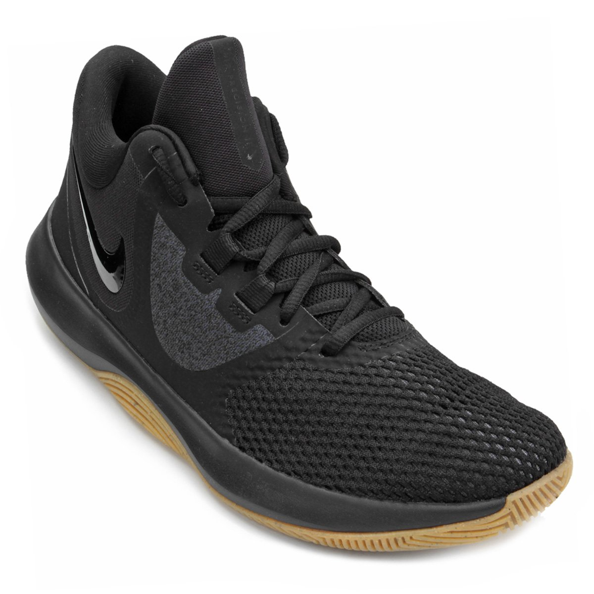 208db7500 Tênis Nike Air Precision II Masculino - Preto e Bege - Compre Agora ...