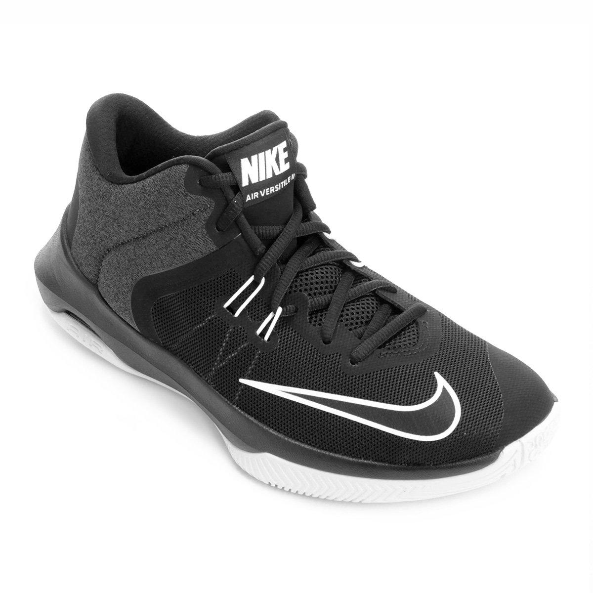 Tênis Nike Air Versitile II Masculino - Preto e Branco - Compre ... 236793d35f255