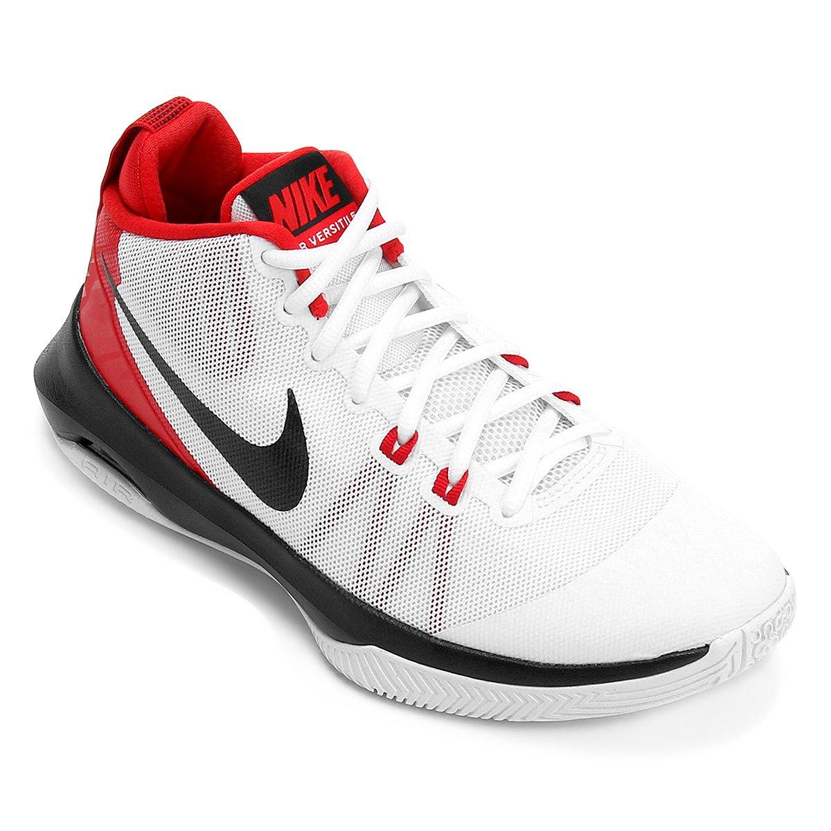 c7ddf92e3e8 Tênis Nike Air Versitile Masculino - Branco e Vermelho - Compre Agora