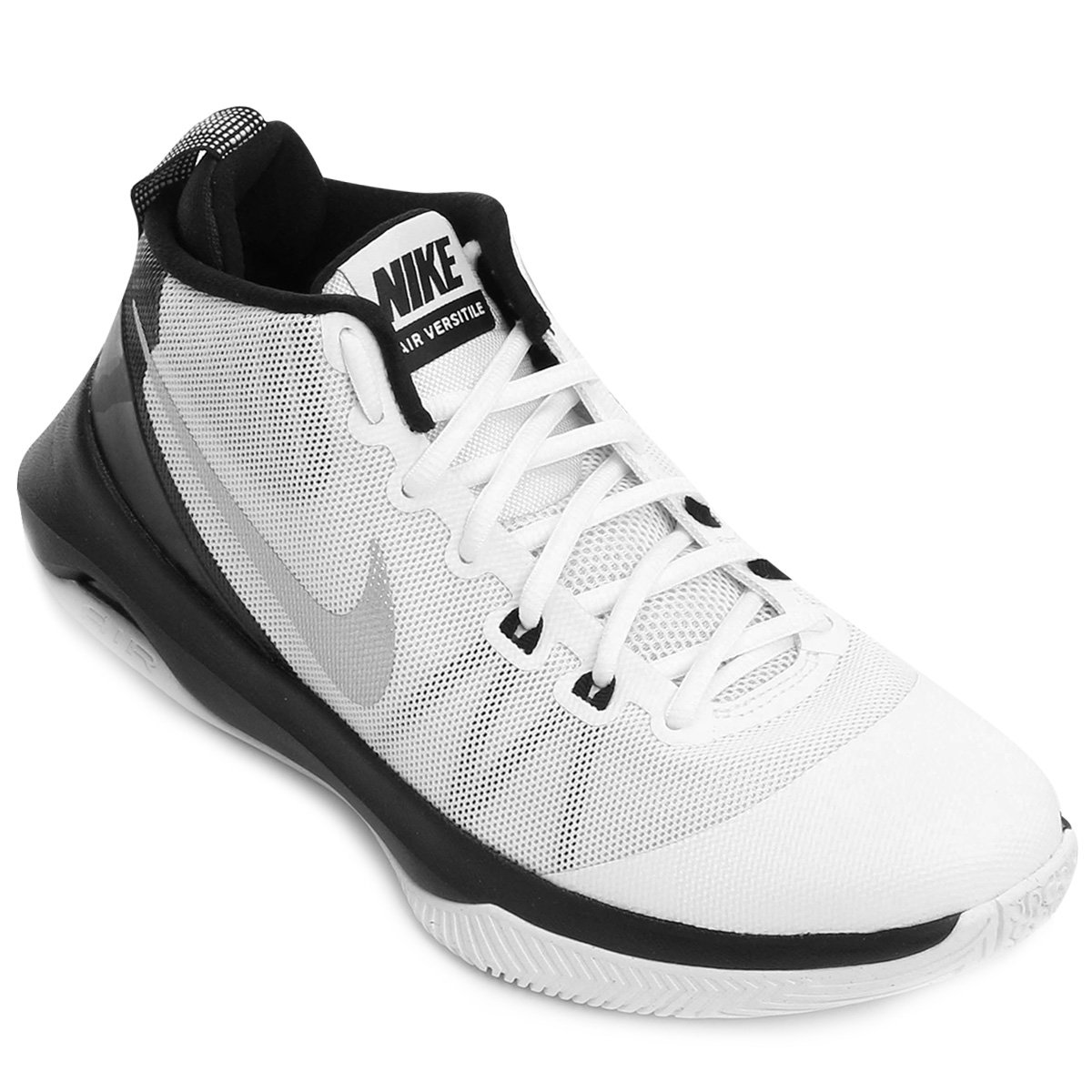 ac609214b1 Tênis Nike Air Versitile Masculino - Branco e Preto - Compre Agora ...