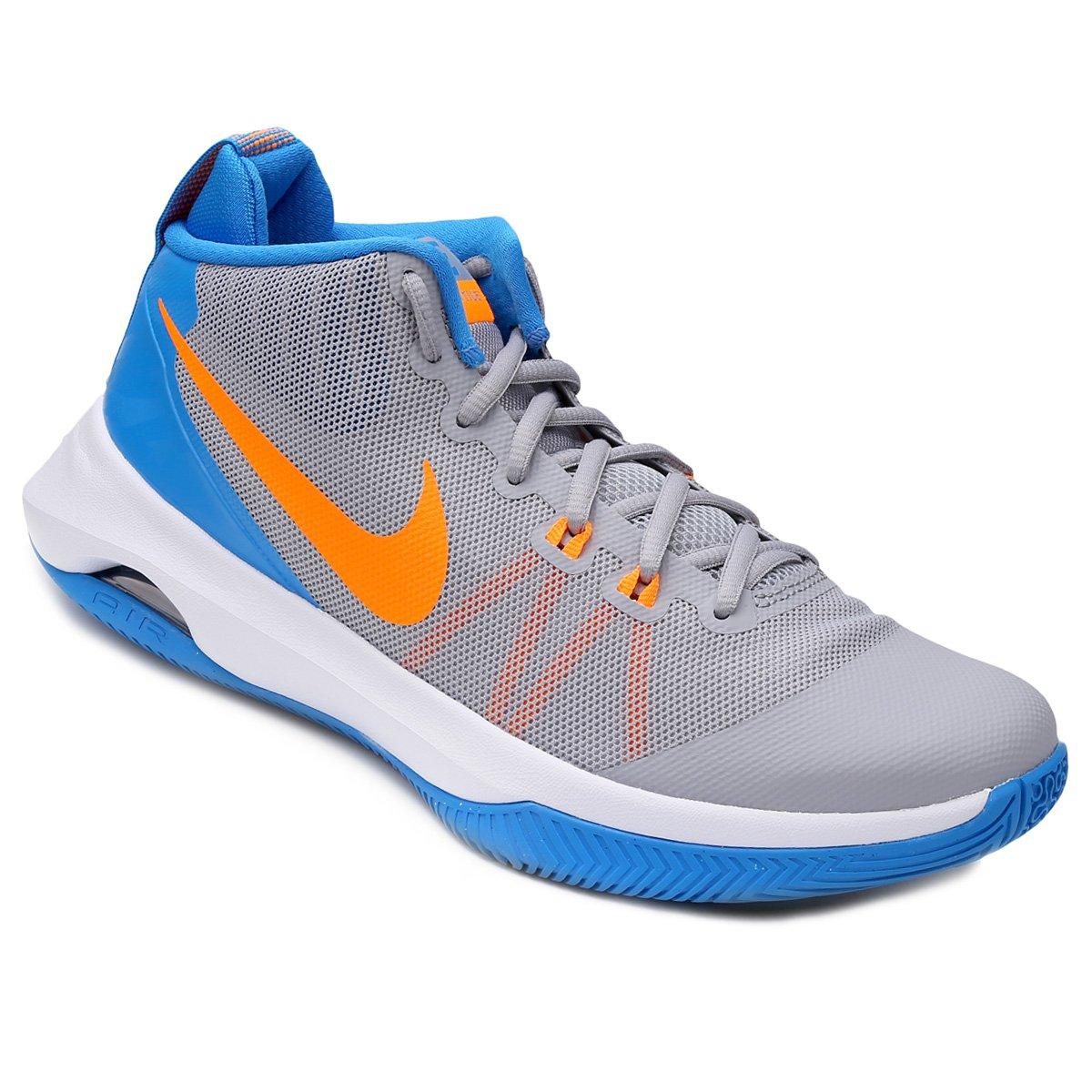 cd9e8ca1288 Tênis Nike Air Versitile Masculino - Cinza e Azul - Compre Agora ...