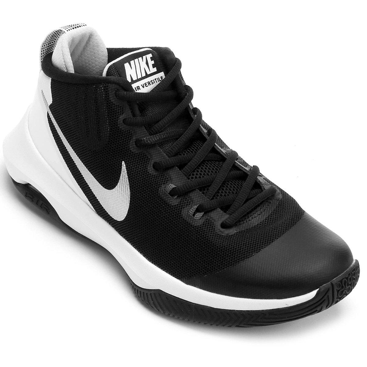Tênis Nike Air Versitile Masculino - Preto e Cinza - Compre Agora ... 54bbdb82d94cd