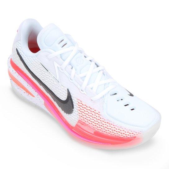 Tênis Nike Air Zoom G.T. Cut - Branco+Laranja