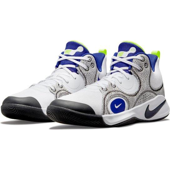Tênis Nike Fly.By Mid 2 - Branco+Azul