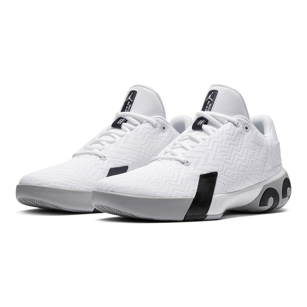 Tênis Nike Jordan Ultra Fly 3 Low Masculino - Branco e Preto ... a946daaae8cd3