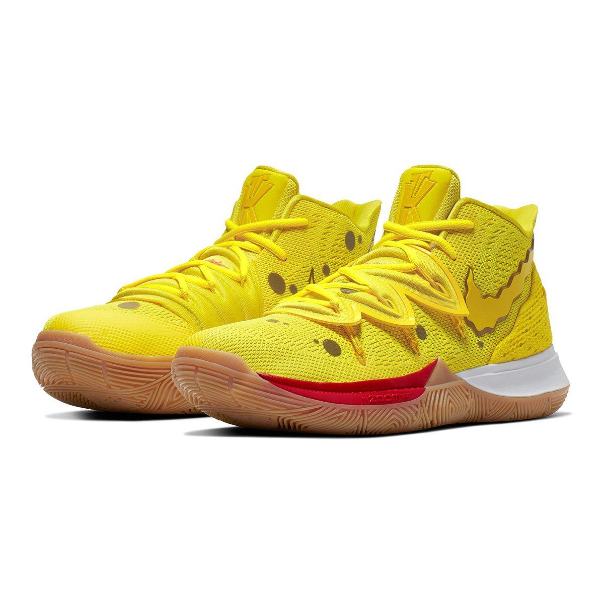 Tênis Nike Kyrie 5 SpongeBob SquarePants Masculino