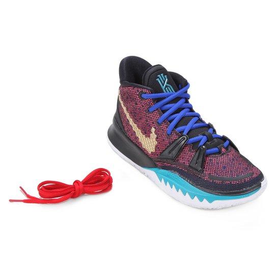 Tênis Nike Kyrie 7 Masculino - Preto+Dourado